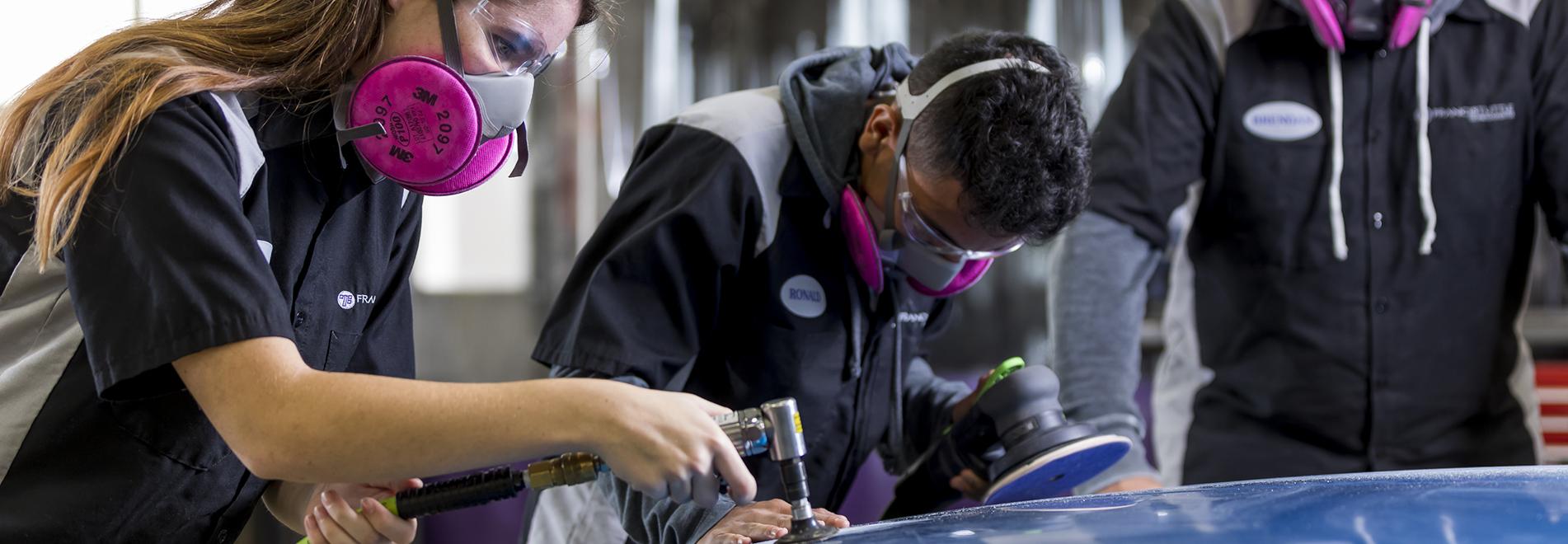 Automotive Collision Repair Technology | Francis Tuttle ...