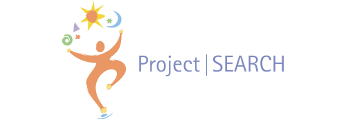 Project SEARCH logo with type and icon